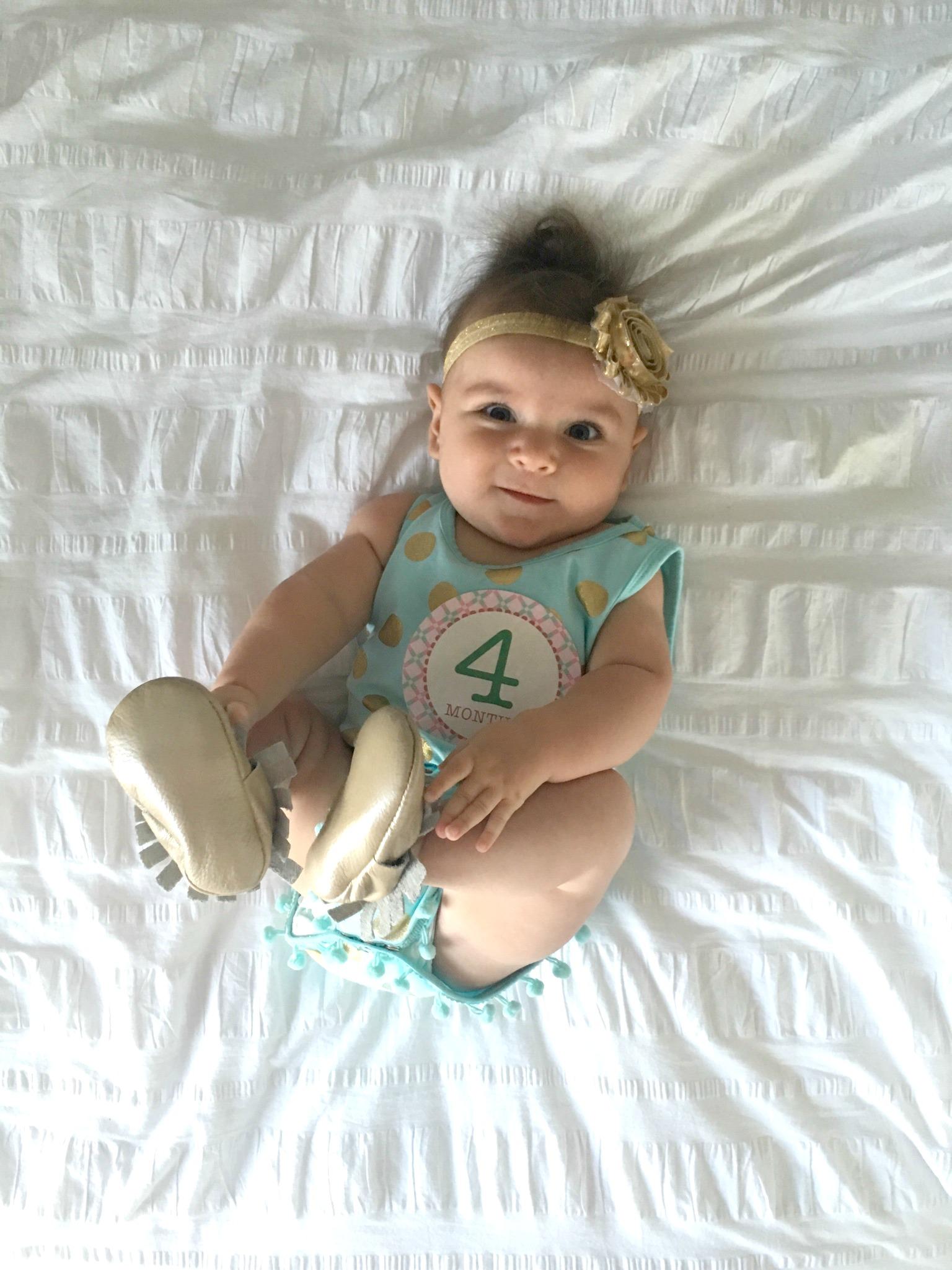 delaney 4 months